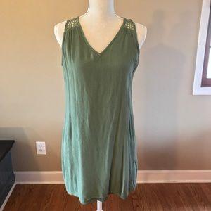 Olive green sundress